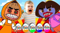 Bad Baby Crying And Learn Colors - Colorful Surprise Eggs Finger Family ...