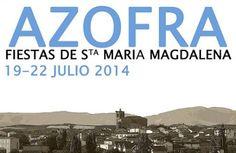 #Azofra celebrará las #fiestas en honor a Santa María Magdalena del 19 al 22 de julio de 2014... ♪ ♫ #FiestasRiojanas ...♪ ♫