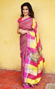 kriti-kharbanda-latest-saree-photos