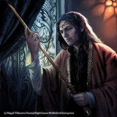 Elrond with Orcrist (Noble Hero card lotr lcg)