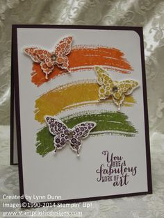 One of my favorite stamp sets in the new catalog is called Work of Art. It is such a fun set to work with and I have seen some simply gorgeous creations with it! I shared a couple of projects with...