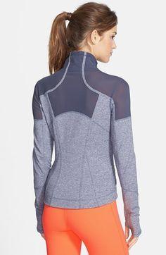 Zella 'Power' Mélange Jacket | Nordstrom