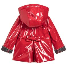 7122bed4c Girls Red   Pink Raincoat