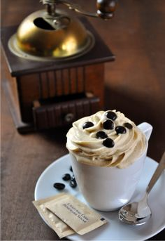 Receta 1061: Mousse de café » 1080 Fotos de cocina