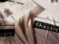 theatre theater womens t-shirt / tank top gift by heartacting