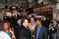 """El gobernador Javier Duarte de Ochoa visita Restaurante Mexicano """"El Aguila Passaic"""" ubicado en la ciudad de New Jersey"""