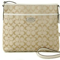 """Coach khaki crossbody bag F36378 AN ADJUSTABLE STRAP FITS COMFORTABLY ON YOUR SHOULDER WITH A 20"""" DROP, OR WEAR IT CROSSBODY STYLE, WITH A 22.5"""" DROP. Coach Bags"""