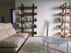 신혼집 인테리어 :: TV없는 거실 홈스타일링, 서재형 거실 인테리어 꿀팁, 셀프인테리어, 비포애프터 : 네이버 블로그 Bookcase, Shelves, Living Room, Interior, Home Decor, Shelving, Decoration Home, Room Decor, Sitting Rooms