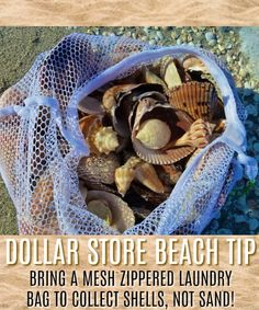 Dollar Tree Hack – Grab a mess laundry Bag. Beach Life Hacks – Secrets and Tips … Dollar Tree Hack – Grab a mess laundry Bag. Beach Life Hacks – Secrets and Tips to make the best beach vacation ever! Life Hacks, Life Tips, Beach Camping, Beach Fun, Khao Lak Beach, Lamai Beach, Beach Vacation Outfits, Beach Hacks, Beach Toys