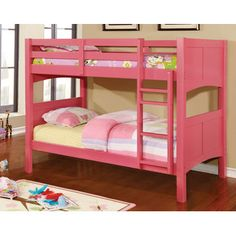 Hokku Designs Spectrum Twin Over Twin Bunk Bed