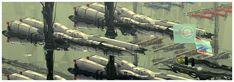 Zentran Military Industrial Complex by AtomicGenjin.deviantart.com on @DeviantArt