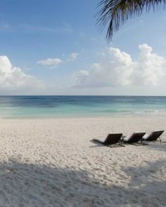 Between sprawling Cancun and low-key Tulum, Riviera Maya offers a classic beach escape. #Jetsetter    I wanna go :)