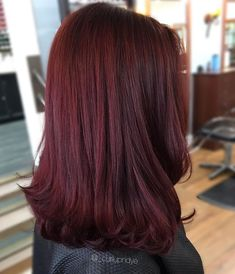 Red violet hair hair & beauty that i love в 2019 г. Red Violet Hair, Ruby Red Hair, Violet Ombre, Purple Ombre, Cherry Hair, Curly Hair Styles, Natural Hair Styles, Wine Hair, Brown Blonde Hair
