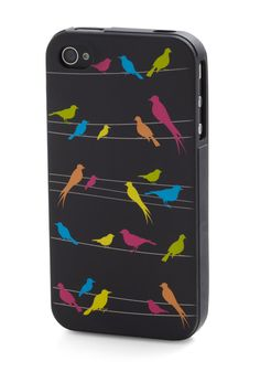 Birds on wires iPhone case.