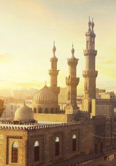 Islamic Architecture, Art And Architecture, Cairo, Islamic Art, Mosque, Oil Paintings, Muslim, Taj Mahal, Building