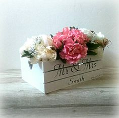 Check out this item in my Etsy shop https://www.etsy.com/uk/listing/513250473/wedding-box-wedding-wooden-box-rustic