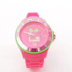 Neon Uhr von Ice watch in Pink