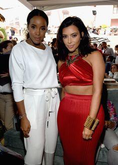 Kim Kardashian Photos: Roc Nation and Three Six Zero  Pre-GRAMMY Brunch 2015 - Inside