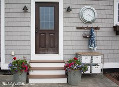 Potting Bench and Tr