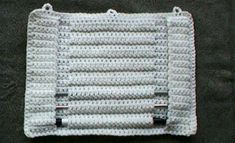 How to make a roll-up protector and organizer for storage of knitting needles and crochet hooks