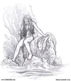 Sketchbook - Selkie by Emma Lazauski (emla)