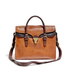 The Lovelock Tote- Would go with any leather boot color!