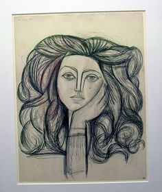 Pablo Picasso: Portrait of Fran? Picasso Portraits, Picasso Art, Pablo Picasso, Cubist Art, Abstract Art, Francoise Gilot, Lost In Translation, Art And Architecture, Printmaking