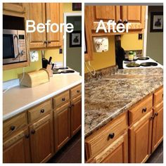 Gianni granite paint for countertops.