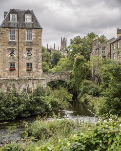 Sur la rivière Leith, à Dean Village - Edimbourg, Ecosse