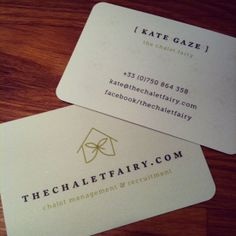 Chalet Fairy Business Cards