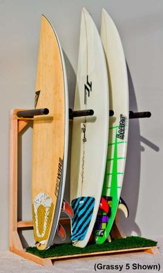For our home (garage) for our surfboards. Paradise. Only we will need spaces for a few more surfboards.