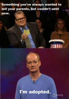 A throwback to some of the most memorable moments from 'Whose Line Is It Anyway'