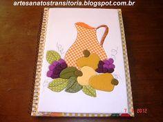 ARTESANATOS TRANSITÓRIA: patchwork incrusté- caderno de receitas