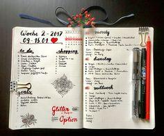 Bujo - weekly