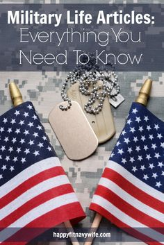 """""""Military Life Articles: Everything You Need To Know"""" from Heather at HappyFitNavyWife.com"""
