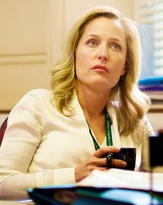 Special Agent Gillian Anderson (no, really it's Stella Gibson in The Fall but let's pretend)