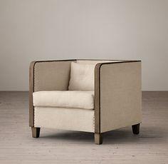 Sun Room // Shelter Arm Upholstered Chair