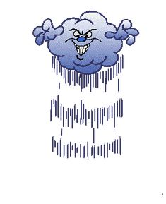 Storm Cloud with Lightning Animation Animated Emoticons, Animated Gif, Fall Pictures, Funny Pictures, Animation, Gif Mignon, Gif Bonito, Gif Lindos, Hurricane Party