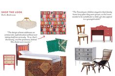 "Shop the Look: Kati Curtis' ""The Royal Tenenbaums"" Children's Room"