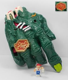 Mighty Max - Grips the Hand / Crushes the Hand - Doom Zones - Bluebird Toys 25