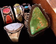 vintage jewlery - Native American jewelry