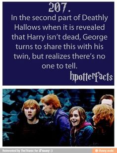 Harry Potter fun facts.  Now I have to watch the movie again...darn! ;)
