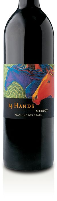 """14 Hands Wine.  """"I guide the wine to its final destination with as few manipulations as possible, making every decision by taste because, ultimately, that's what matters to the person buying a bottle of 14 Hands."""" Keith Kenison, Winemaker"""