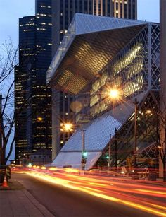 Seattle Central Library such an amazing building to explore