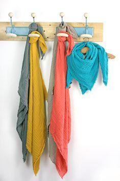 89f5981bec98d Snoods, tours de cou, foulard et bavoirs bandanas en lange de coton OekoTex  Made