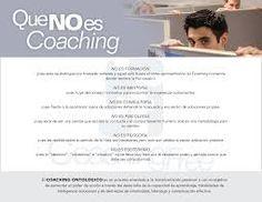 Resultado de imagen de que es y que no es coaching