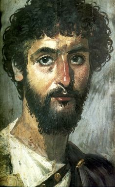 Фаюмские портреты Mortuary portrait, Fayum, Egypt, 2nd c. CE, encaustic on wood panel