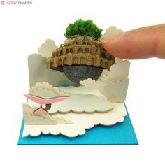 [Miniatuart] Studio Ghibli Mini : Castle in the Sky LAPUTA Which Floats in the Heavens (Assemble kit) (Model Train) Other picture1