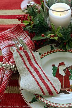 Sweet Christmas setting.../