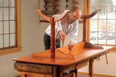 projetos gratuito no blog: Ah! E se falando em madeira...: mesas para sala